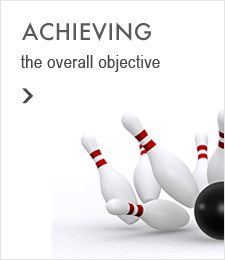 Achieving the overall objective